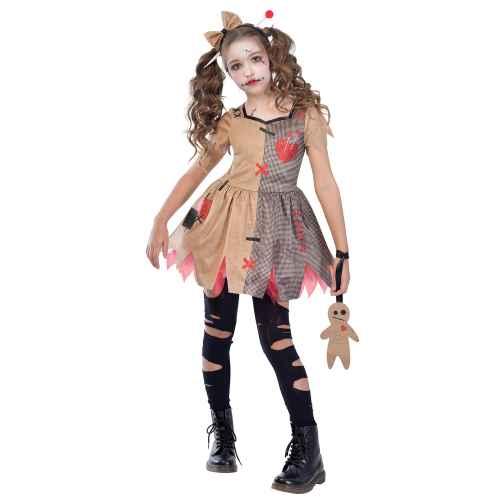Miss Voodoo Halloween Kostüm