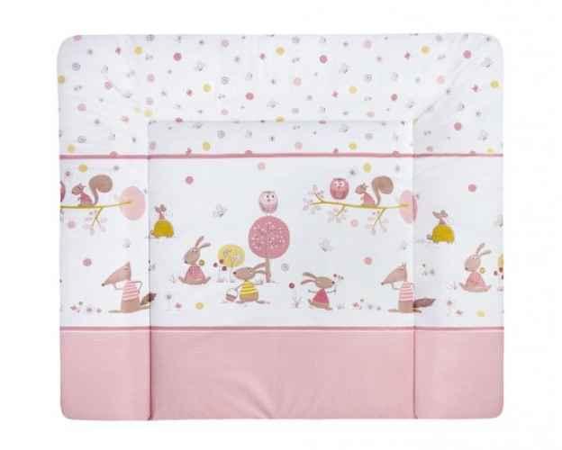 Wickelunterlage Motiv: Happy Animals rosa 2611-2 Julius Zöllner